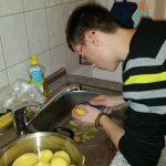 Trainingswohnen Küche